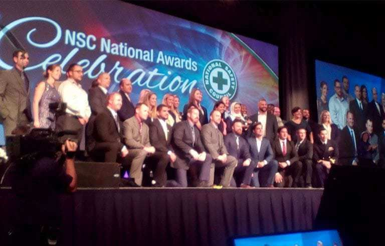 Safety champions recognized for helping NSC reach 'moonshot' goal