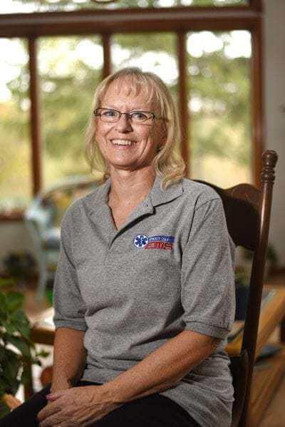 Carrie Schwartz: Nurse, EMT and a helper from the start