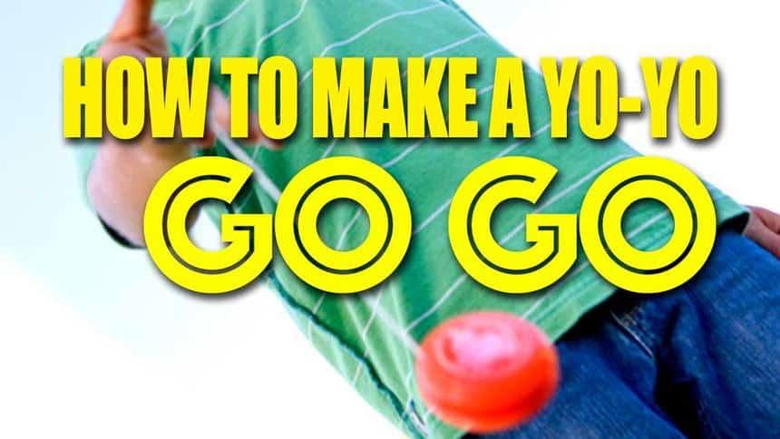 How to make a yo-yo go