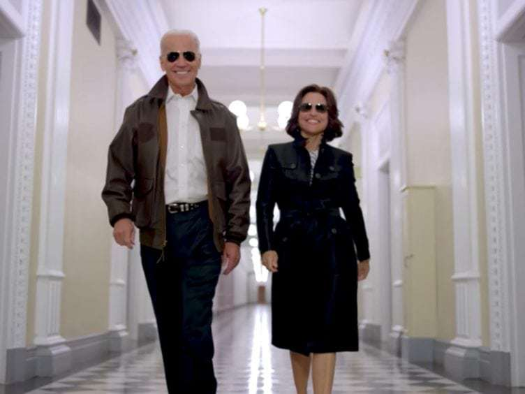 Joe Biden's Response to Julia Louis-Dreyfus' Cancer Diagnosis Will Probably Make You Cry