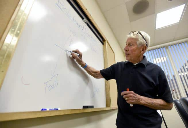Prostate cancer support group facilitated by 81-year-old Longmont man