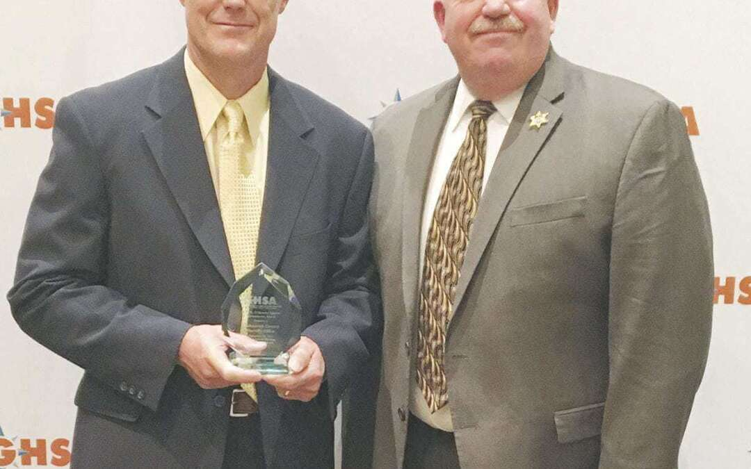 Sheriff's office wins award for road safety