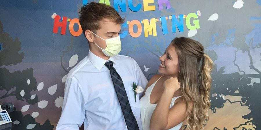 This Teen's Friends Did the Sweetest Thing When His Illness Interfered With Homecoming