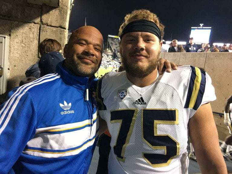 UCLA OT Andre James inspired by father's cancer battle