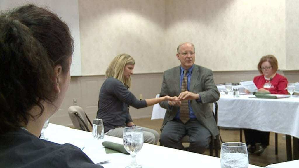 Dr. Crabb Talks Hand Safety with Local Businesses