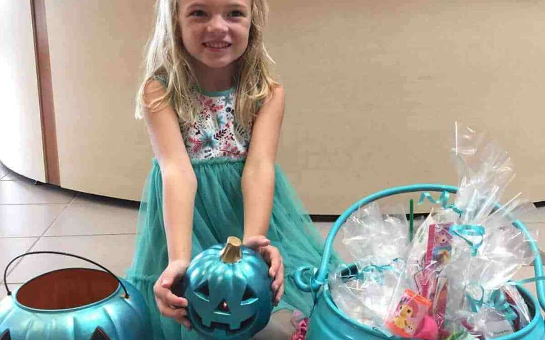 If you see a teal pumpkin on Halloween, here's what it means.