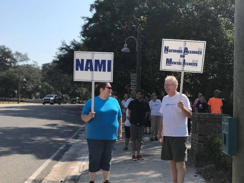 Locals walk for mental illness awareness