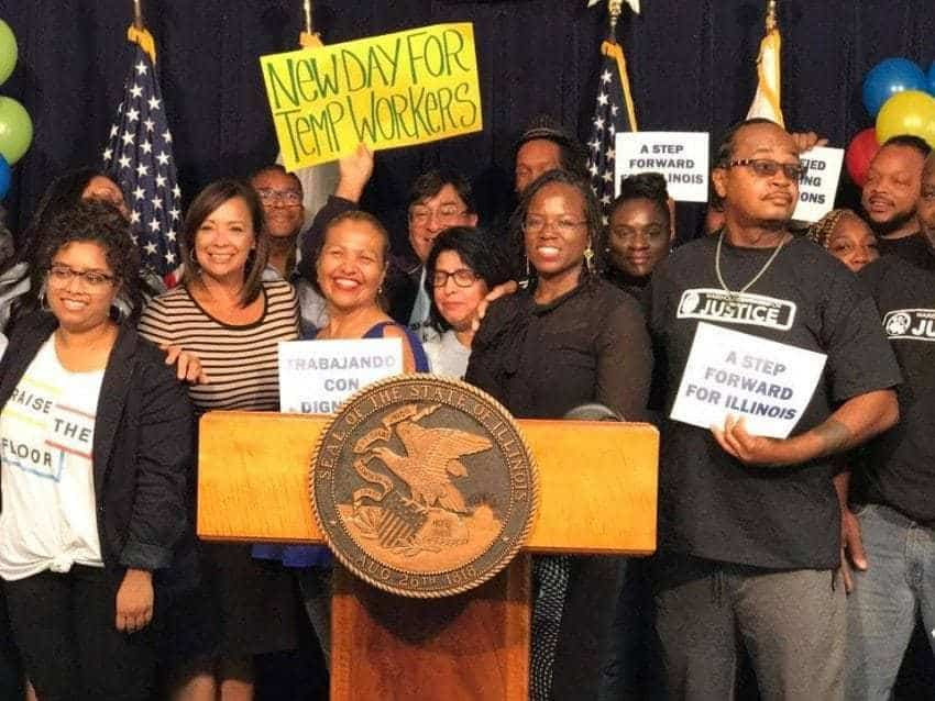 Open thread for night owls: New Illinois law will greatly expand temp workers' rights