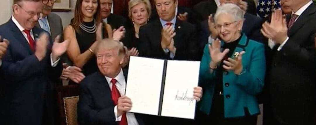 President Trump Signs Executive Order Weakening the Affordable Care Act