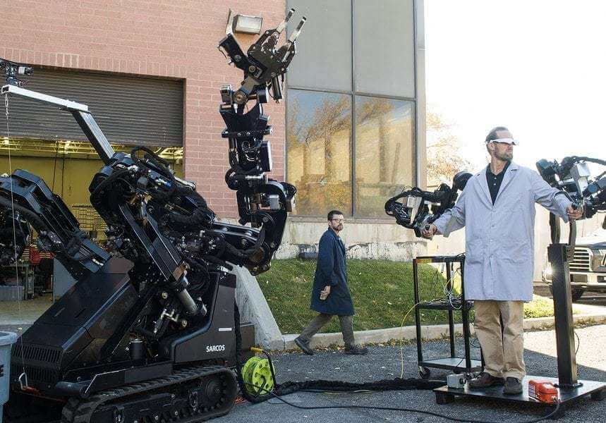 Salt Lake City robotics company says goodbye to military jobs to focus on helping workers and 'saving lives'