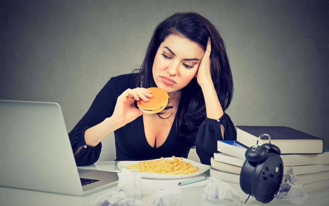 Stress may harm gut health as much as junk food